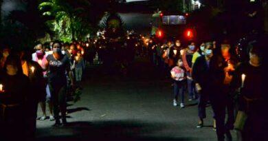 Las ofrendas madrugadoras, una tradición religiosa de Suchitoto