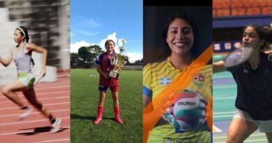 Mujeres, trofeos y medallas